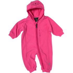 Isbjörn Lynx Jumpsuit Baby Microfleece frost pink